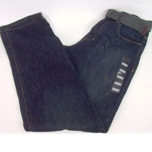 Calvin Klein Jeans Relaxed Straight Blue with Belt